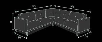 sofa size guide how to measure for a