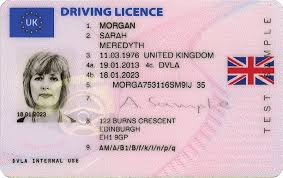 – Driving replica Quantic License United Kingdom