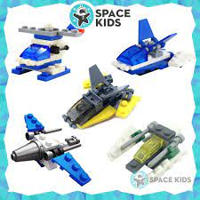 Đồ chơi trẻ em xếp hình Lego giá rẻ lắp ghép máy bay, phi thuyền từ 18 đến  28 chi tiết