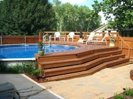 above ground pool decks. Pool Decks For Above Ground Pools Deck Oval Swimming
