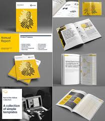 Annual Report Templates Free Download Annual Report Brochure Template By Templatepickup In Print