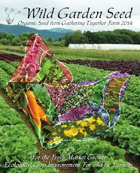 garden seed. Wild Garden Seed Catalog: 2014