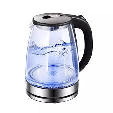 Ấm siêu tốc Bình đun siêu tốc Ấm đun nước siêu tốc Rapido RK1818 dung  tích18L bình thủy tinh trong suốt có đèn Led - Hàng Chính Hãng