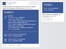 facebook video size