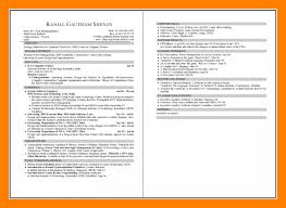 2 Page Resumes Adorable 48 Page Resume Format Free Professional Resume Templates Download