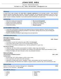 Sample Outside Sales Resume Outside Sales Sales Resume Examples Resume Examples Good