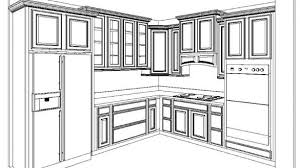 simple kitchen drawing. Impressive Decorating Your Home Design Studio With Amazing Simple Kitchen Cabinet Layout Drawing