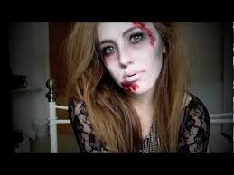 glamorous zombie a halloween tutorial