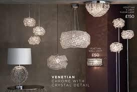 lighting collection next burford 6 light chandelier chrome at westquay venetian 5