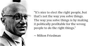Milton Friedman Quotes Cool It's Nice To Elect The Right People Milton Friedman [48x48