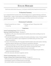 Best Marriage And Family Therapist Intern Resumes Resumehelp