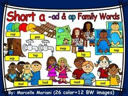 Word With Ad Short Vowel A Clipart Ad Ap Words Clipart 11 Words 38 Images