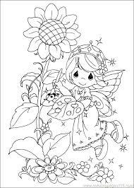 Free Spring Coloring Sheets