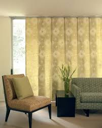 sliding door window treatments type