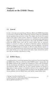 analysis on the emms theory springer inside