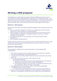 Bid Proposal Sample Bid Example Cityesporaco 3
