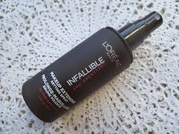 a picture of l oreal infallible pro spray set makeup extender setting spray