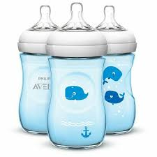 Avent Decorated Bottles Philips Avent Natural Blue Whale Decorated 100oz100ml Babies 20