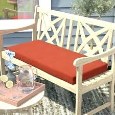 red bench cushion leather seat wooden outdoor stripe benches f