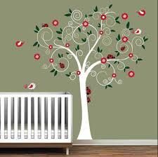 wall sticker tree silhouette