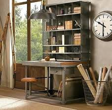 industrial style home office. Wonderful Home Desk Shelving System With Right Furniture Industrial Style Home Office Is  Quite Easy To Design This Storage Unit Of Measurement In B