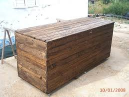 how to build a hope chest wooden pallet ideas painted