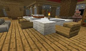 Minecraft Furniture Kitchen Modern Open Kitchen Design With White Cabinet Storage As Well
