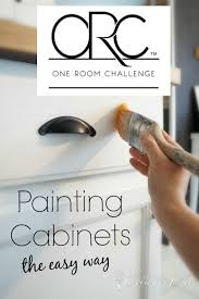 easiest way to paint kitchen cabinetsPainting Kitchen Cabinets the Easy Way  Seeking Lavendar Lane