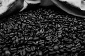 This is under roasted coffee, in fact it's walking that thin line between light roast and undrinkable hay. Black And White Coffee Beans 1254847 Stock Photo At Vecteezy
