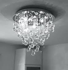 furniture flush mount crystal chandelier contemporary hallway 1 light mini modern square regarding semi ele