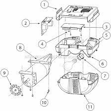 genie h8000 parts list and diagram after august 2009 ereplacementparts com