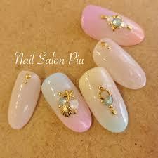 Nail Salon Piuさんのネイルデザイン 夏ネイル グラデーション