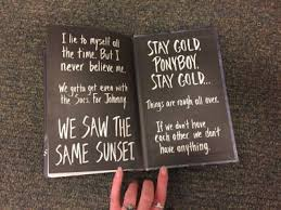 The Outsiders Tumblr T H E O U T S I D E R S Pinterest Magnificent The Outsiders Quotes