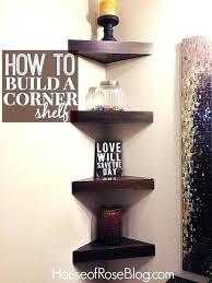 diy corner shelf plans bookshelf popular amazing d i y tutorial for garage speaker bathroom floating closet