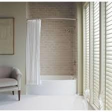 kohler expanse wall mount shower rod in