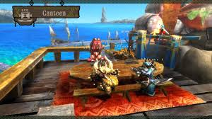 Image result for monster hunter 3 ultimate screenshot