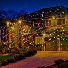 Outdoor Led Christmas Projection Lights Laser Light Projector Lamp Red Green Led Tree Spotlights Park Garden Lawn Xmas Christmas Laser Show Projector Lighting