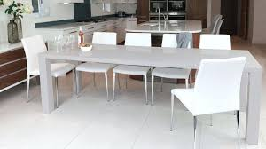 extendable dining tables and chairs new extendable dining table seats regarding photo white high gloss round
