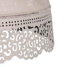 Deckenlampen Kronleuchter Hängelampe Lene Weiß Mit
