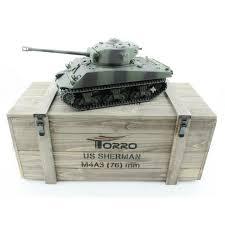 Купить <b>радиоуправляемый танк Torro Sherman</b> M4A3 76mm, 1/16 ...