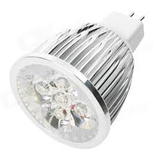 mr16 5w 450lm 3800k warm white light 5 led cup bulb 12v