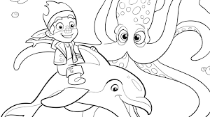 Small Picture Jake and Mr Squid Coloring Pages Disney Junior Kolorowanki