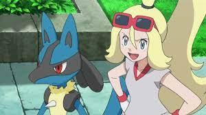 Lucario & Korrina | Pokemon, Pokemon characters, My pokemon