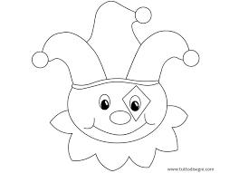 Disegni Per Bambini Da Colorare Pagliaccio Tuttodisegnicom