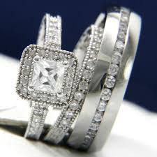 his and hers wedding sets. wedding rings his and hers sets e