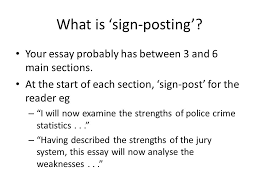 essay feedback lecture troubles of youth what are we going to  what is sign posting your essay probably has between 3 and 6