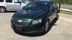 2014 Chevrolet Cruze LT Rainforest Green Metallic Roy Nichols ...