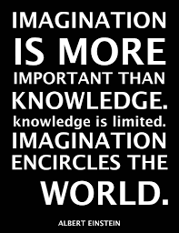 Popular Imagination Quotes About Imagination Is More Important Than