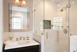 bathroom subway tiles. White Subway Tile Bathroom \u2014 Designs Tiles O