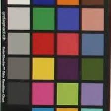 Gretagmacbeth Colorchecker Chart Gretagmacbeth Colorchecker Chart Download Scientific Diagram